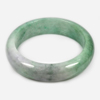 Unheated 489.55 Ct. Natural Gem Multi-Color Jade Bangle Size 80 x 63 x 18 Mm.