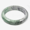 Unheated 391.79 Ct. Natural Gem Multi-Color Jade Bangle Size 80 x 63 x 15 Mm.