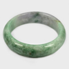371.22 Ct. Natural Gemstone Multi-Color Jade Bangle Size 75x60x17 Mm. Unheated
