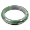 Unheated 322.45 Ct. Natural Gemstone Multi-Color Jade Bangle Size 77x60x14 Mm.