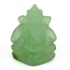 14.32 Ct. Natural Gemstone Green Color Jade Ganesha Carving 20x15.6Mm.