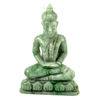 Unheated 150 Ct. Natural Gemstone Green White Jade Budda Carving 58x36x16Mm.