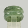 Unheated 25.33 Ct. 2 Pcs. Natural Gemstone Green Color Jade Ring Size 5