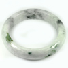 Multi Color Jade Bangle Size 88x66x17Mm. 536.61 Ct. Natural Gemstone Unheated