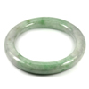 Green Jade Bangle Diameter 51 Mm. 247.09 Ct. Natural Gemstone Unheated