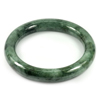 Green Jade Bangle Round Cabochon Diameter 55 Mm. 294.81 Ct. Natural Gemstone