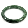 Green Jade Bangle Round Cabochon Diameter 56 Mm.251.92 Ct. Natural Gemstone