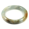 Multi-Color Jade Bangle Diameter 52 Mm. 279.25 Ct. Natural Gemstone