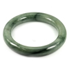 Green Jade Bangle Round Cabochon Diameter 57 Mm. 315.88 Ct. Natural Gemstone