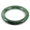 Green Jade Bangle Round Cabochon Diameter 52 Mm. 220.13 Ct. Natural Gemstone