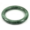 Green Jade Bangle Round Cabochon Diameter 52 Mm. 270.45 Ct. Natural Gemstone