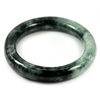 Green Jade Bangle Round Cabochon Diameter 57 Mm. 351.13 Ct. Natural Gemstone