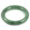 Green Jade Bangle Round Cabochon Diameter 52 Mm. 279.40 Ct. Natural Gemstone
