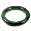 Green Jade Bangle Round Cabochon Diameter 52 Mm. 258.88 Ct. Natural Gemstone