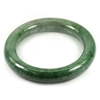 Green Jade Bangle Round Cabochon Diameter 52 Mm. 300.96 Ct. Natural Gemstone