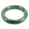 Green Jade Bangle Round Cabochon Diameter 52 Mm.296.86 Ct. Natural Gemstone