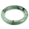 Green Jade Bangle Round Cabochon Diameter 55 Mm.283.04 Ct. Natural Gemstone