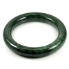 Green Jade Bangle Round Cab Diameter 52 Mm.294.26 Ct. Natural Gemstone Unheated