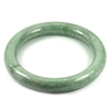 Green Jade Bangle Diameter 56 Mm. 289.16 Ct. Natural Gemstone Unheated