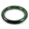 Green Jade Bangle Diameter 55 Mm. 268.34 Ct. Natural Gemstone Unheated