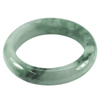 Green Jade Bangle 575 Ct. Unheated Natural Gemstone Size 88 x 61 x 17 Mm.