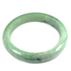 Green Jade Bangle Unheated Natural Gemstone 450 Ct. Size 89 x 68 x 14 Mm.