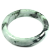 Green Jade Bangle Unheated Natural Gemstone 525 Ct. Size 88 x 68 x 17 Mm.