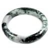 Multi-Color Jade Bangle Unheated Natural Gemstone 450 Ct. Size 89 x 68 x 15 Mm.