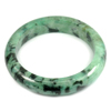Green Jade Bangle Unheated Natural Gemstone 450 Ct. Size 83 x 64 x 15 Mm.