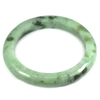 Green Jade Bangle Unheated Natural Gemstone 400 Ct. Size 88 x 66 x 11 Mm.