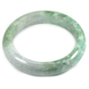 Multi-Color Jade Bangle Unheated Natural Gemstone 500 Ct. Size 89 x 67 x 16 Mm.