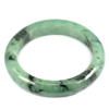 Green Jade Bangle Unheated Natural Gemstone 475 Ct. Size 88 x 66 x 14 Mm.
