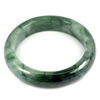 Green Jade Bangle Unheated Natural Gemstone 500 Ct. Size 84 x 64 x 15 Mm.