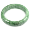 Green Jade Bangle Unheated Natural Gemstone 500 Ct. Size 84 x 64 x 16 Mm.