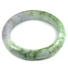 Multi-Color Jade Bangle Unheated Natural Gemstone 400 Ct. Size 88 x 67 x 16 Mm.