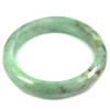 Green Color Jade Bangle Unheated Natural Gemstone 475 Ct. Size 88 x 67 x 16 Mm.