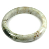 Multi-Color Jade Bangle Unheated Natural Gemstone 450 Ct. Size 89 x 67 x 14 Mm.