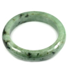 Green Jade Bangle Unheated Natural Gemstone 475 Ct. Size 84 x 63 x 15 Mm.