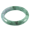 Multi-Color Jade Bangle 475 Ct. Unheated Natural Gemstone Size 89 x 67 x 14 Mm.