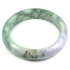 Multi-Color Jade Bangle Unheated Natural Gemstone 525 Ct. Size 88 x 68 x 16 Mm.