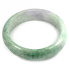 Multi-Color Jade Bangle Unheated Natural Gemstone 450 Ct. Size 82 x 64 x 18 Mm.