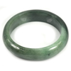 Green Jade Bangle Size 72x55x14 Mm. 310.71 Ct. Natural Gemstone Unheated