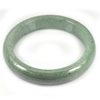 Green Jade Bangle Size 80x61x13 Mm. 340.44 Ct. Natural Gemstone Unheated