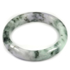 Multi-Color Jade Bangle Size 80x60x13 Mm. 313.93 Ct. Natural Gemstone Unheated