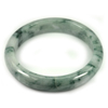 Green Jade Bangle Size 75 x 57 x 12 Mm. 265.46 Ct. Natural Gemstone Unheated