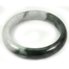 Multi-Color Jade Bangle Size 73x56x12 Mm. 265.56 Ct. Natural Gemstone Unheated