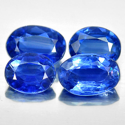 2.45 Ct. Oval Shape Natural Blue Kyanite Gemstones Unheated