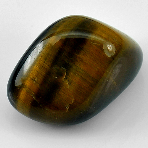 Unheated 47.80 Ct. Natural Fancy Cabochon Tiger Eye Agate Madagascar