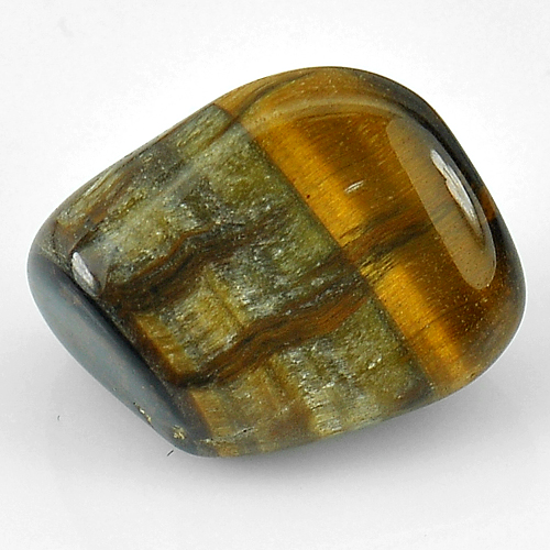 Unheated 32.15 Ct. Fancy Cabochon Natural Tiger Eye Agate