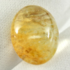 Multi-Color Quartz 22.18 Ct. Oval Cabochon 19.6 x 15.9 Mm. Natural Gemstone